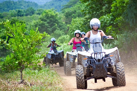 Wilderness ATV transfer from Montego Bay