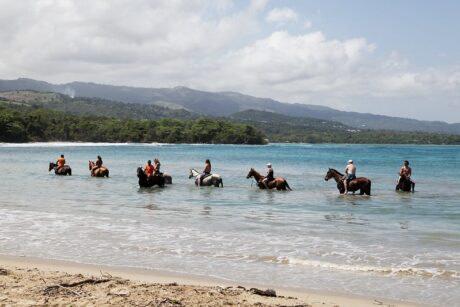 Beach Horse Back Riding in Ocho Rios