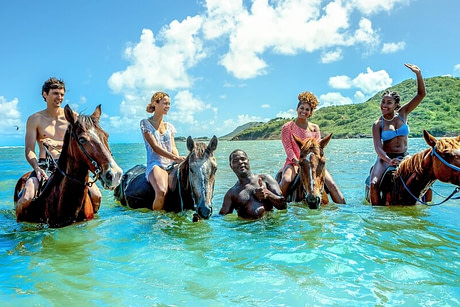 Beach Horse Back Riding in Ocho Rios
